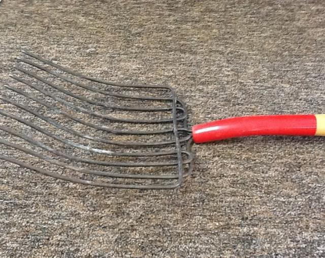 Where to find Fork Ten Tine Rake in Springfield