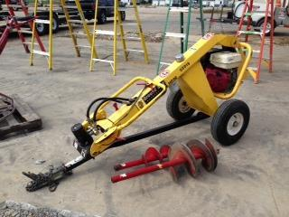 GROUNDHOG 1 MAN TOWABLE AUGER Rentals Springfield MO, Where