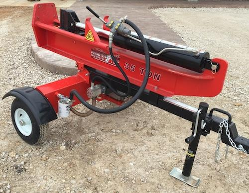 Where to find Log Splitter 35 Ton Verticla Horizontal in Springfield