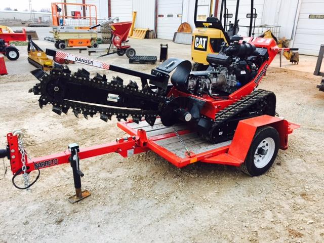 Where to find Barreto 36   Trencher w  Trailer in Springfield