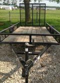 Rental store for 5 x10 Utility Trailer w drop Ramp in Springfield MO