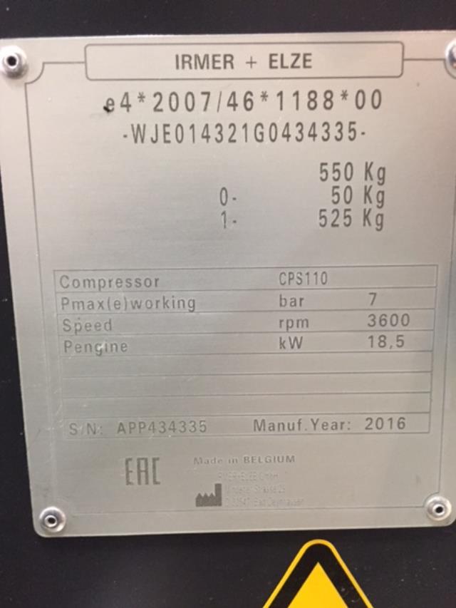 TOWABLE C0MPRESSOR CPS110 110 CFM Rentals Springfield MO