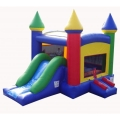 Rental store for Rainbow kids Combo Bounce House in Springfield MO
