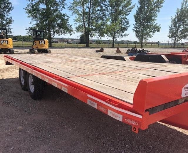 Where to find 8 x20   Trailer Flatbed Deck Over  ECO in Springfield